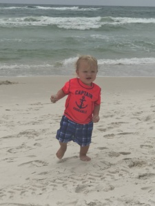 Carter McCoy Goes to the Beach