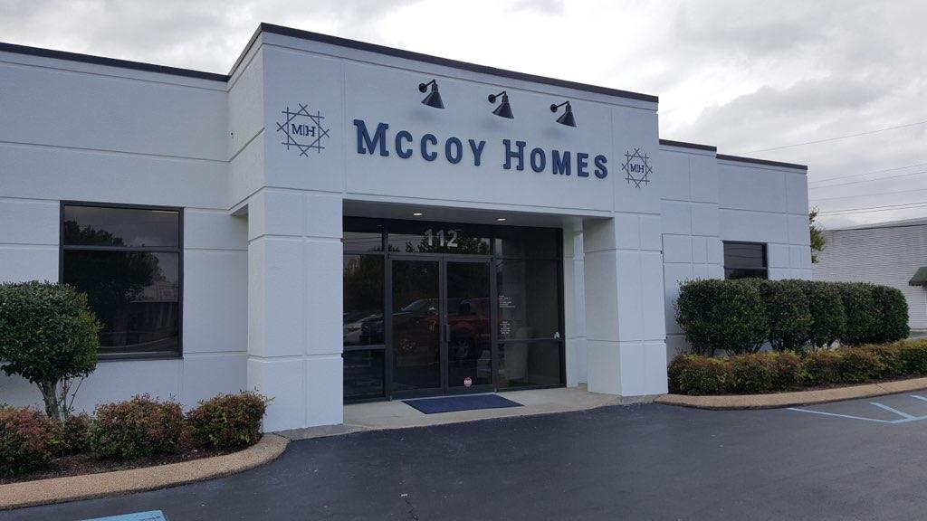 McCoy Homes Built a New Home of its Own!
