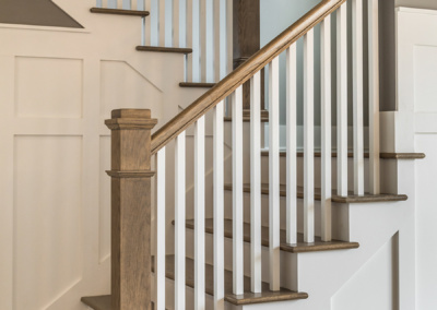 European Farmhouse stair detail