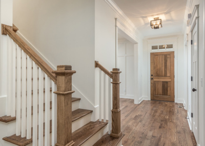 Oak Hardwood and Stair Details