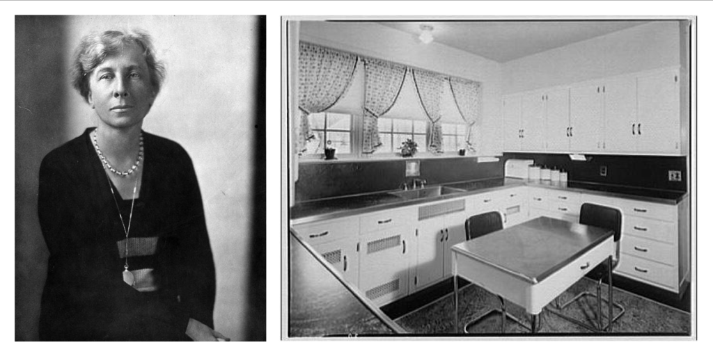 Lillian Gilbreth creator of the Kitchen Work Triangle