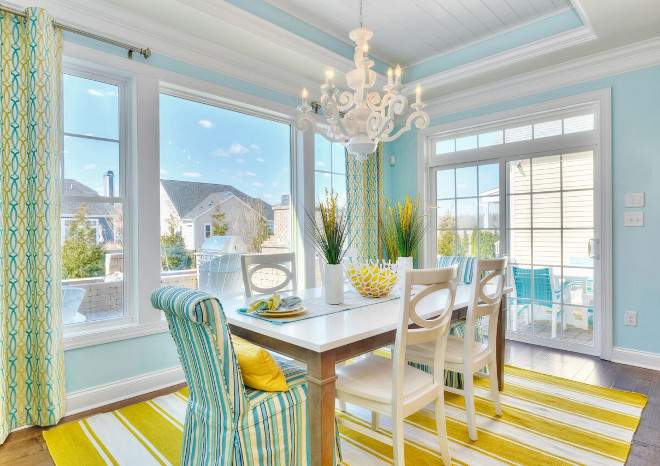 Pantone's Color Of The Year 2021 - Cheery Yellow Breakfast Nook